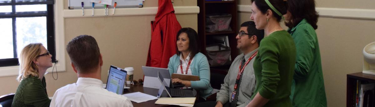 San Benito High School Admin Team